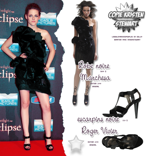 COPIE KRISTEN STEWART GRACE AU BOULEVARD DES PEOPLES ET A KRISENSTEWART