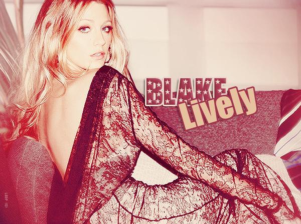 Blake Lively elue la Femme la plus désirable de 2011 ! ça ce fête !