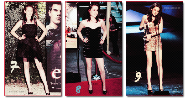 Quelle est la plus belle robe portée par Kristen Stewart ?