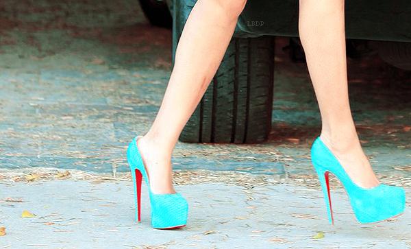 Beyoncé : Wawou, ça c'est de la chaussure !