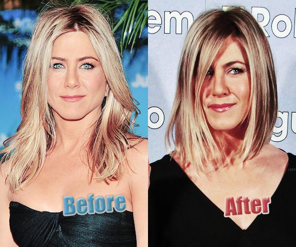 Jennifer Aniston innove! Elle a (enfin?) changé de coiffure! On en pense quoi?