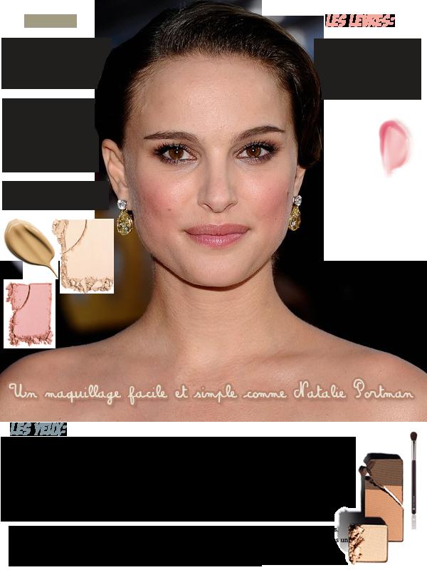 Maquille toi comme Natalie Portman!