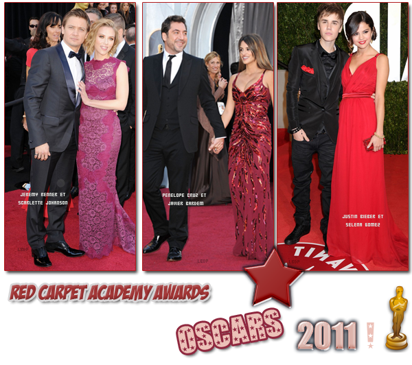 Red Carpet Academy Awards.