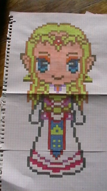 Pixel Art Zelda Blog De Monstroplante Dessins