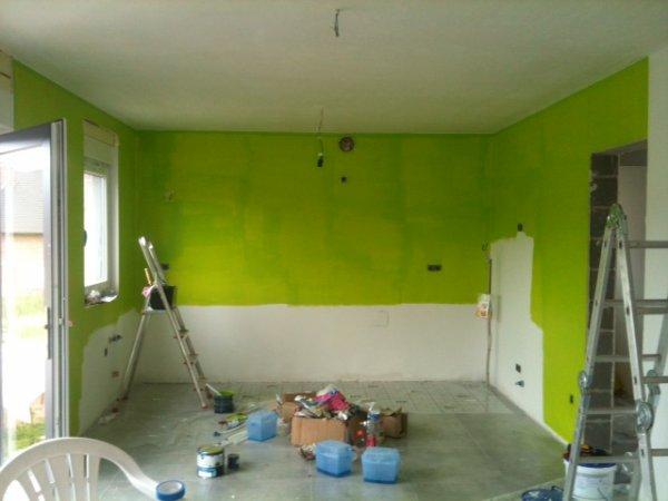 Avril  - Mai 2012 - Peinture