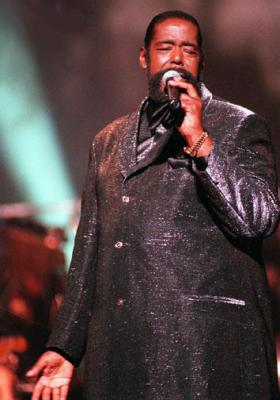 BARRY WHITE (L'HOMME A LA VOIX D'OR ORGASMIQUE LOL)