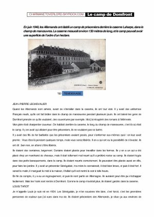 LE CAMP DE DOMFRONT (61)