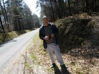 LE DEPÔT DE MUNITIONS A LA SAUVAGERE (61) 1 dans la forêt des Andaines