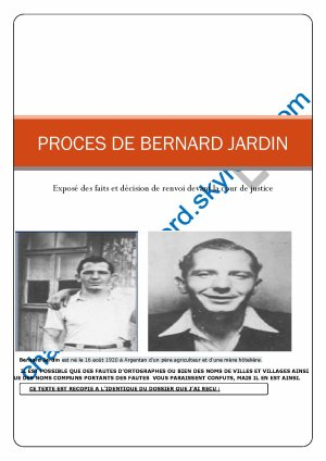 Bernard Jardin (les accusations)