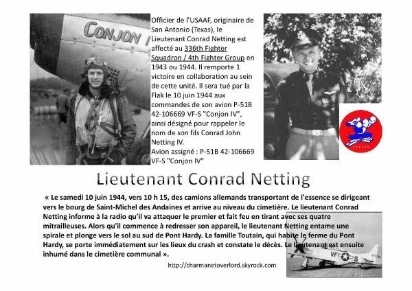 CONRAD NETTING (Saint Michel des Andaines 61)