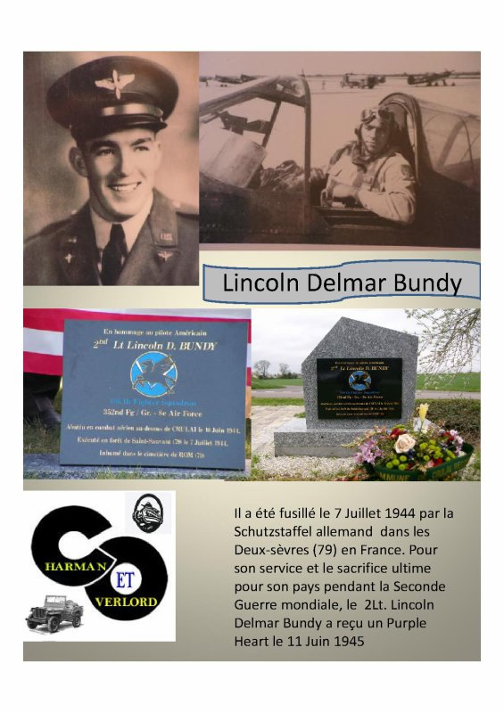 Lincoln Delmar Bundy  (CRULAI 61) [ modifié le 21/10/2015]