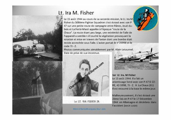 La Chaux (61) 1er Lt IRA MARSHALL FISHER