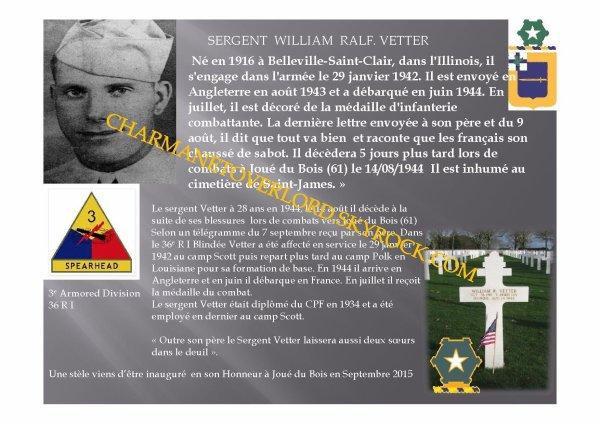 William Ralph Vetter (Joué du Bois 61)