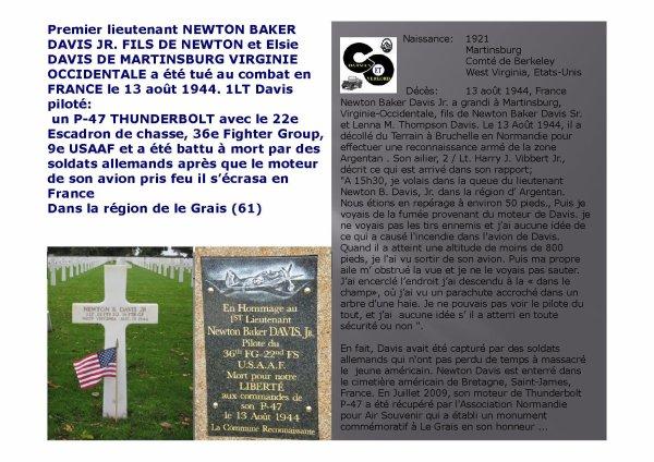 Le Grais (61) Newton Baker Davis