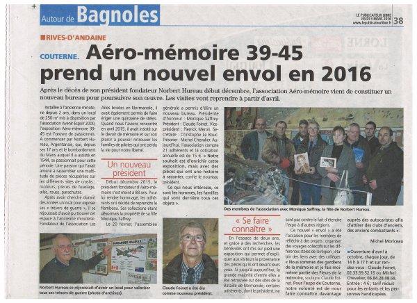 AERO-MEMOIRE 39/45 Nouveau Bureau
