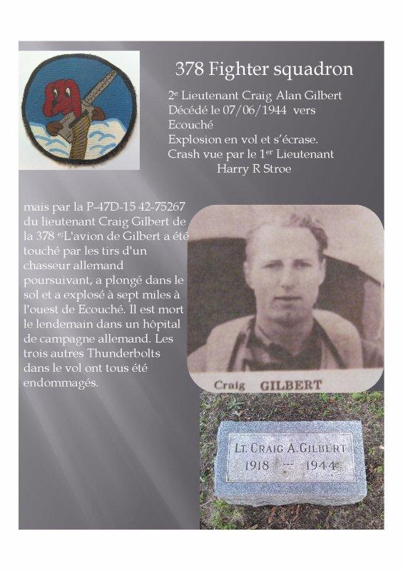 Lieutenant Gilbert Alan  Graig (Ecouché 61)