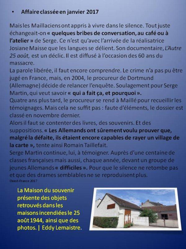 Maillé, village d'Indre et Loire