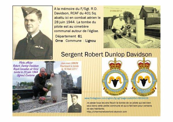 Pilote officier Robert Dunlop Davidson