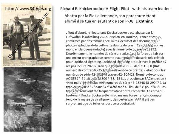 Richard E Knickerbocker Bellou en Houlme 61