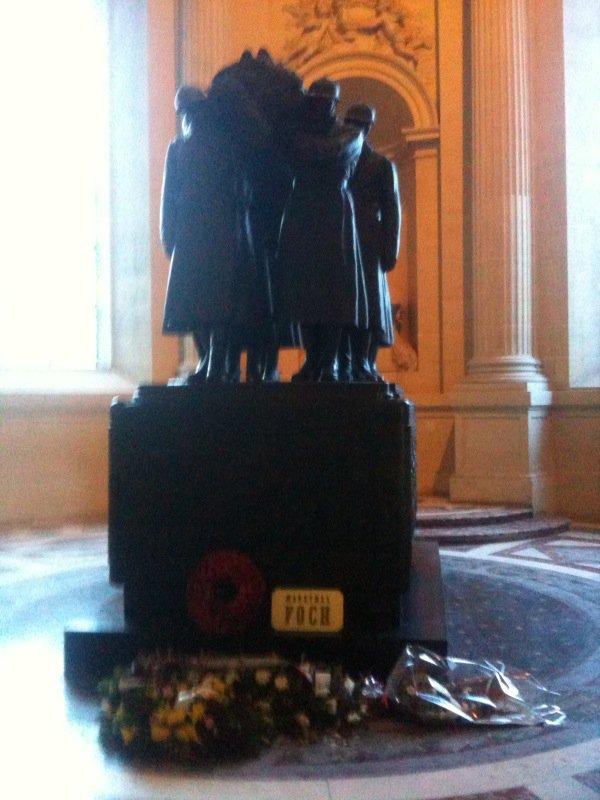La tombe du maréchal Foch.