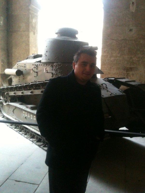Un char Renault  ft 17