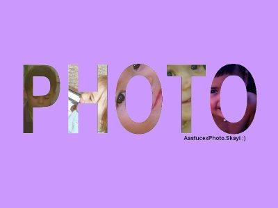 Comment mettres des images dans des lettres