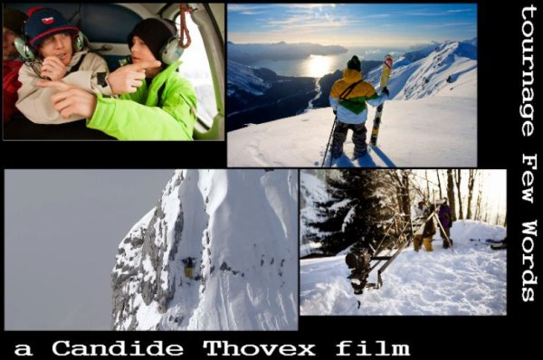 photos tournage Few Words Candide Thovex