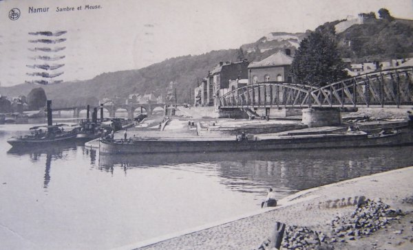 Namur - Le Grognon - Confluent Sambre & Meuse