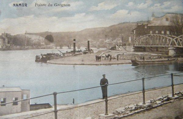 Namur - La pointe du Grognon