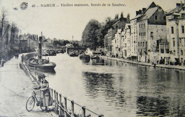 Namur - Les bords de Sambre