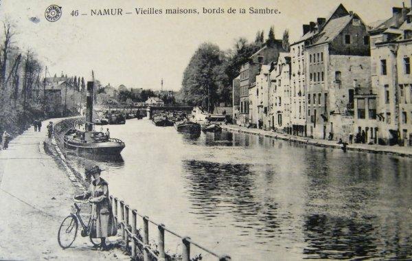 Namur - Les bords de Sambre