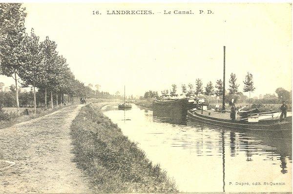 LANDRECIES (F) Sambre  - La Sambre Transfrontalière, ses mémoires, ses mariniers.