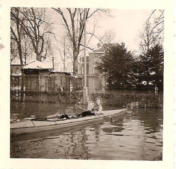 LA PLANTE  inondations 1958
