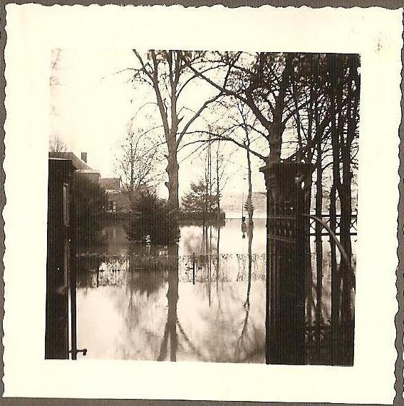 LA PLANTE - inondations 1952