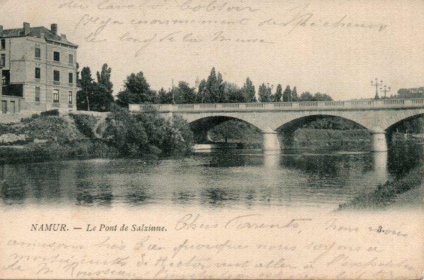 Namur (Sambre) - Le Pont de Salzinnes - DP1903