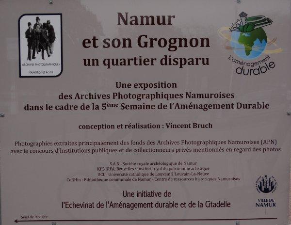 Namur et son Grognon, un quartier disparu - Exposition de photos inédites du 18/04 au 06/05/2012