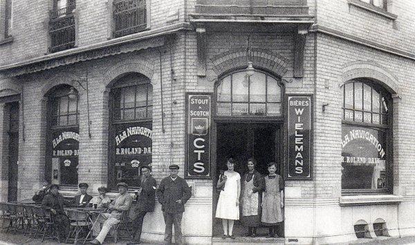 Namur, chez Roland... &  la crue du 27 février 1910 au Port du Grognon...