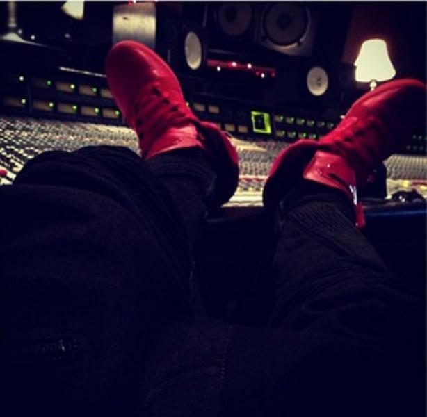 Justin en studio  + sortie d'album