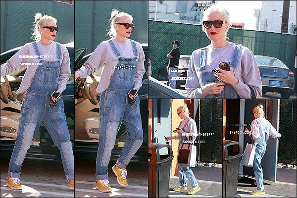 18 Janvier 2015 : Gwen s'est rendu à un studio, préparerait-elle une nouvelle tournée...?