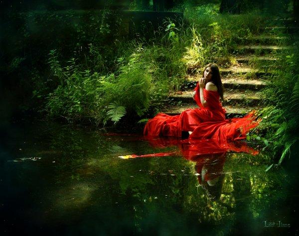 « L'homme est un fleuve, la femme est un lac. »