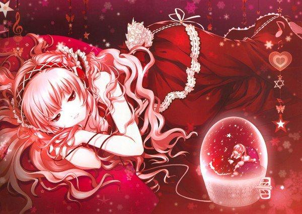 A Noël je n'ai pas plus envie de rose que je ne voudrais de neige au printemps. J'aime chaque saison pour ce quelle apporte.