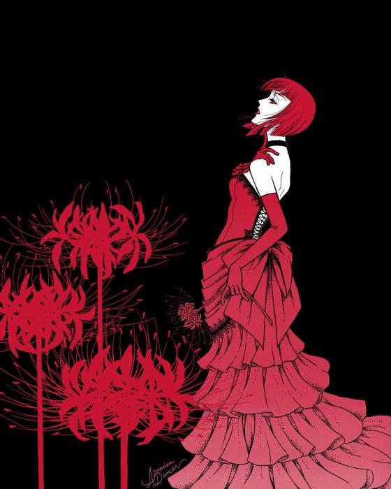 Mademoiselle aime le Rouge...