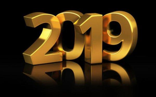 Tout mes voeux pour cette nouvelle année 2019