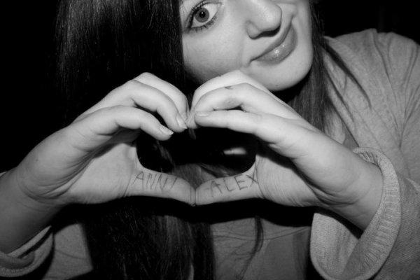 Alex liebt Anni. ♥