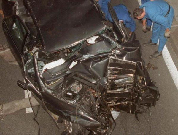 Dodi al Fayed et Diana d accident dans une voiture