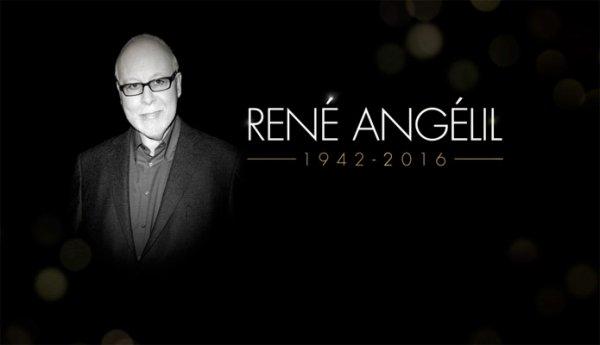 René Angélil Adieu