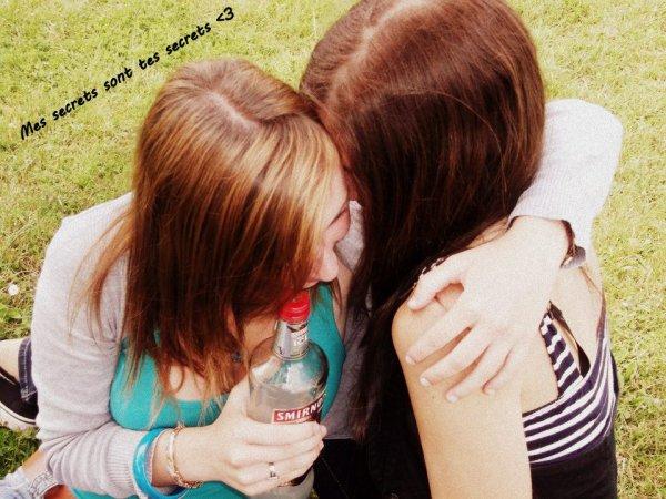 """Une amitié sincére et pure, le soleil de ma vie c'est elle """" Meilleure """" ♥"""