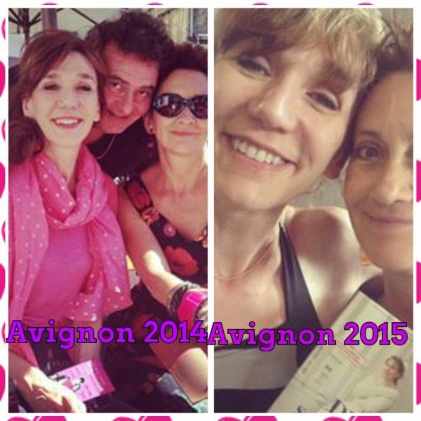 Virginie  Lemoine à  Avignon  2015