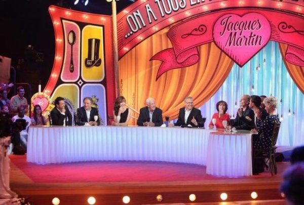 """Virginie Lemoine dans """"on a tous  quelque  chose en nous de Jacques Martin  passera sur france 2 le 21 Novembre"""