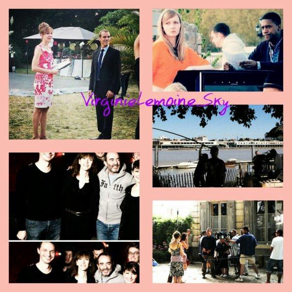 Stills photos tournage +News Virginie